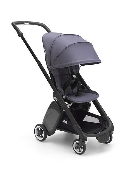 bugaboo ant black style set steel blue