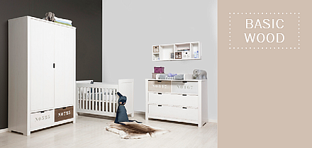 Bopita Basic Wood babykamer