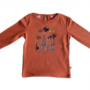 t-shirt Ellie burnt orange