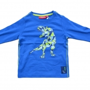 t-shirt lange mouw raptor blue