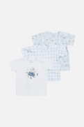 t-Shirt Alvi winter lemons blue