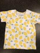 t-shirt Alvi lime mist lemon