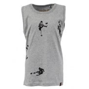 t-shirt Mavrick soccer players grey