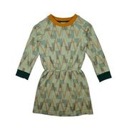 kleed sweater geometric jacquard